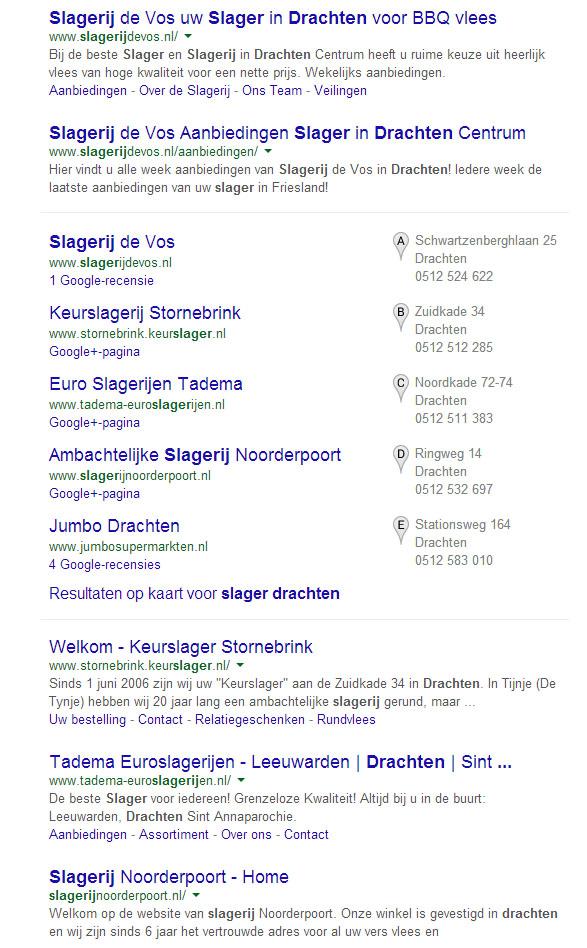 #1 in Google - Dat wilt u toch ook!