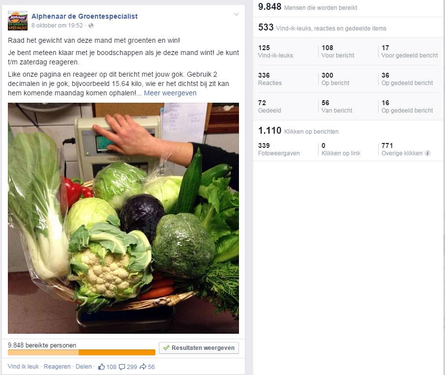 facebookactiegroenten
