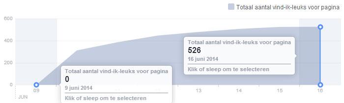 Facebook Actie Resultaat